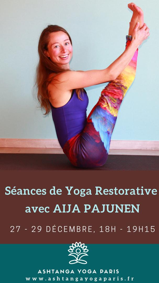201912 - Yoga Restorative avec Aijacop