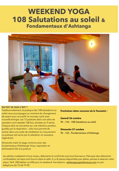 yoga toussaint 2019